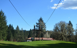 Tree To Tree Aerial Adventure Park's Zipline Tour - Experience our thrilling zips including a ¼ mile super zip line. With beautiful views of Hagg Lake, this is truly an event you won't forget.